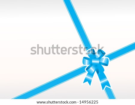 wallpaper vector blue. stock vector : lue gift bow