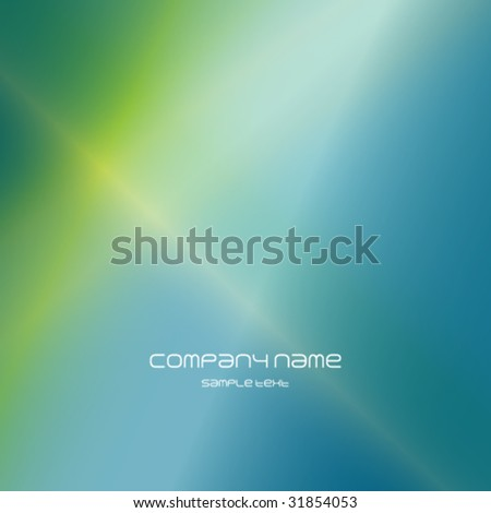 Blue Green abstract background texture - trendy business template with copy space Contemporary texture