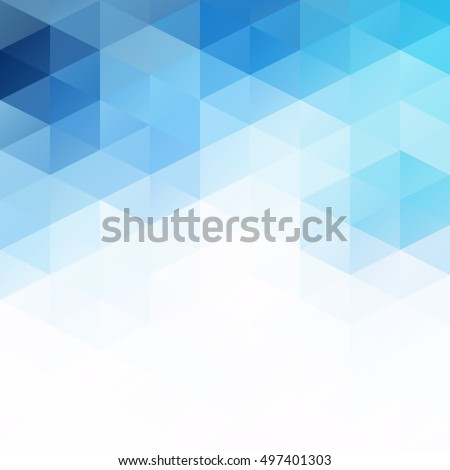 stock-vector-blue-grid-mosaic-background-creative-design-templates