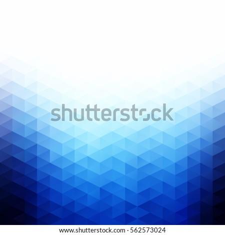 blue grid mosaic background