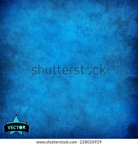 stock-vector-blue-grunge-background