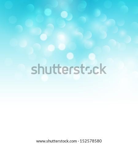 Blue holiday light background. Vector illustration