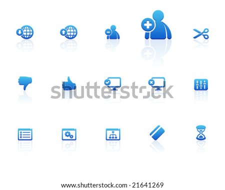 blue icons   set 7