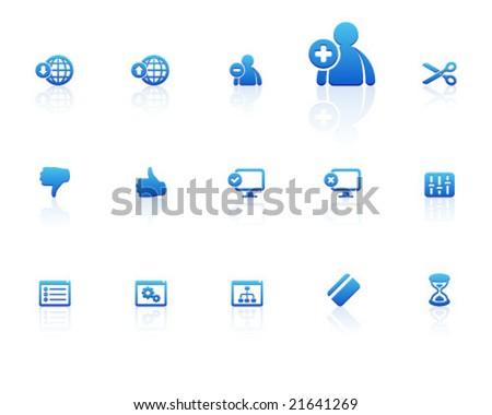 blue icons   set 7