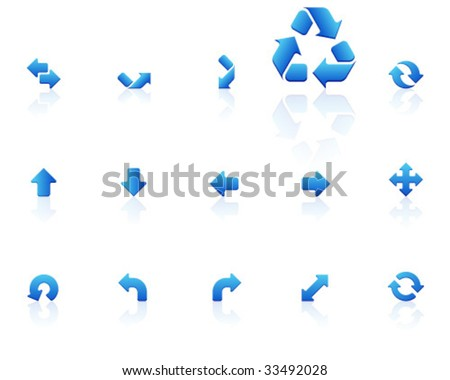 blue icons | set 16