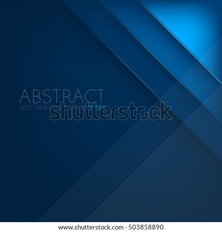 stock-vector-blue-layer-vector-background-with-space-for-design