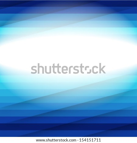 Blue light and stripes moving fast over blue background