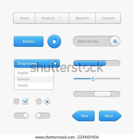user interface progress report