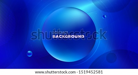 Blue Liquid color background design. Futuristic Gradient. Minimal Pattern. Fluid gradient shapes composition. Futuristic design Brochure. Abstract Geometric Background.