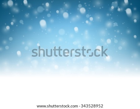 blue luminous background
