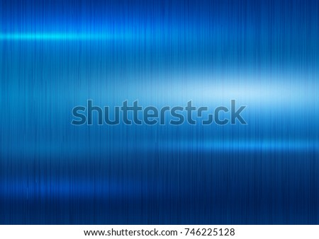 Blue metal texture background vector illustration