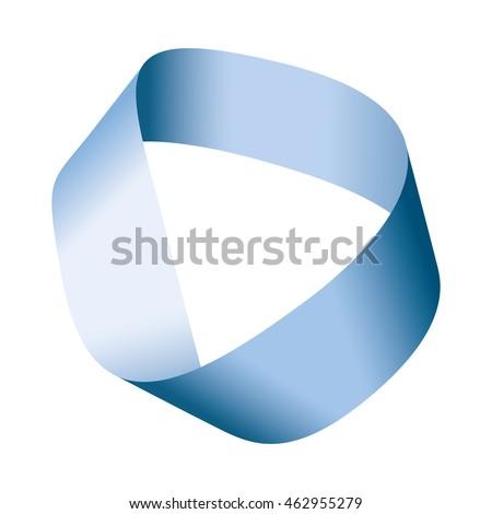 blue moebius strip or moebius
