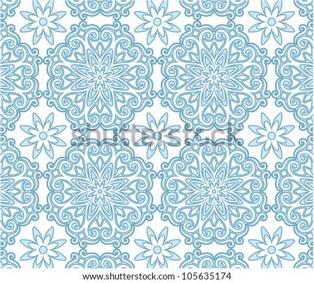 blue pattern background