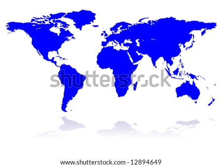 blue planet, continents, background, world, vector