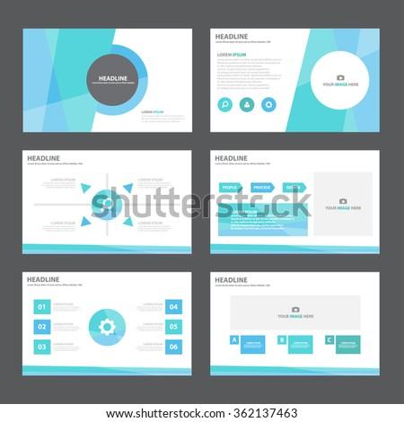 blue presentation templates