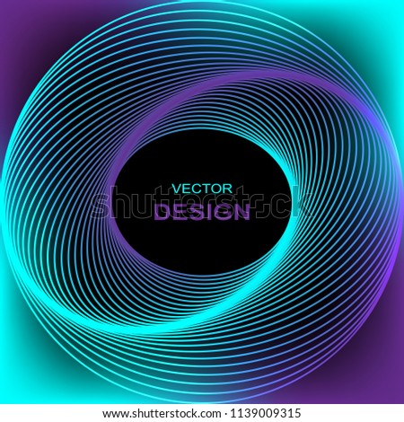 stock-vector-blue-purple-lines-in-the-form-of-a-circle-vector-abstract-background