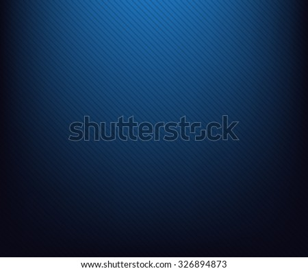 Blue radial gradient to black  with lines