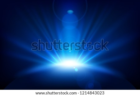 stock-vector-blue-rays-with-lens-flare-vector-illustration