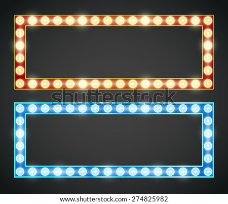 blue red gold colored vector