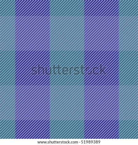 blue repeating fabric swatch; vector - stock vector