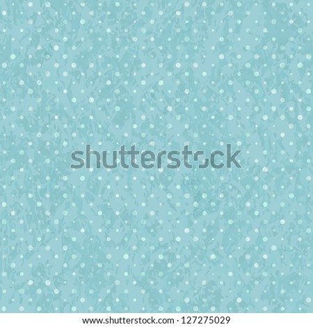 blue seamless polka dot old
