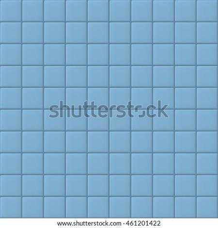 Blue seamless tiles vector illustration.