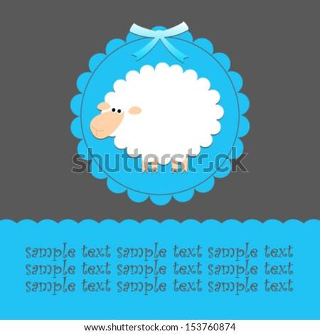 blue sheep card