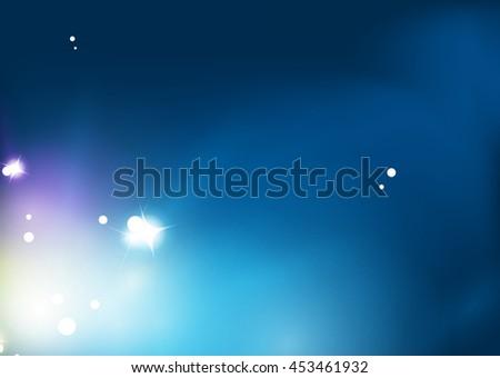 blue shiny sky  modern abstract