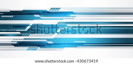 blue silver cyber digital data