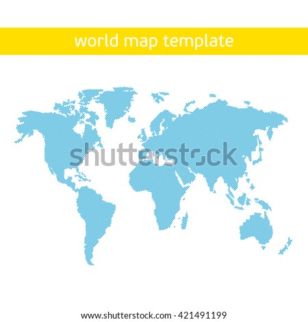 blue similar world map world