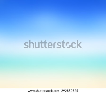 blue sky abstract blur