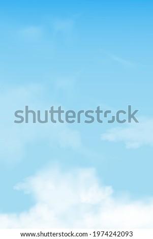 blue sky with altostratus