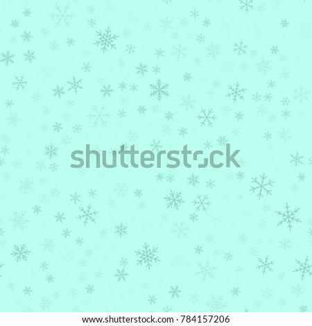 blue snowflakes seamless