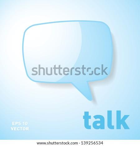 blue speech