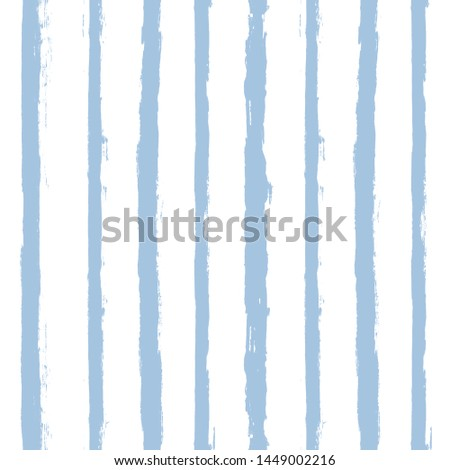 blue stripe Seamless pattern. vector Hand drawn striped geometric background. paint ink brush strokes. grunge stripes, modern paintbrush line for wrapping, wallpaper, textile