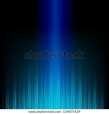 Blue stylish equalizer