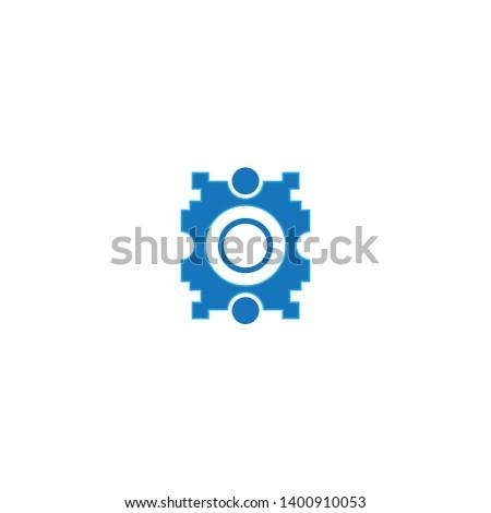 blue symbol, ornament symbol, blue circle symbol