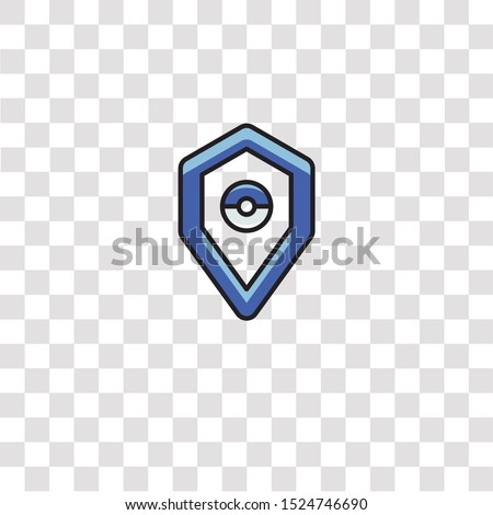 blue team icon sign and symbol