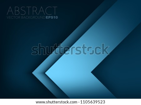stock-vector-blue-triangle-arrow-corner-vector-background-overlap-layer-for-design