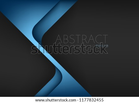 stock-vector-blue-triangle-geometric-vector-background-overlap-layer-on-black-space-for-text-and-background