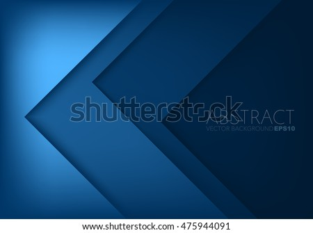 stock-vector-blue-triangle-vector-background-arrow-angle-paper-layer-overlap-on-space-for-text-and-message