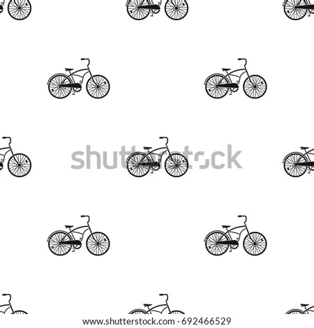 blue two wheeled bicycle for a