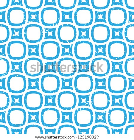 Blue vector abstract seamless background