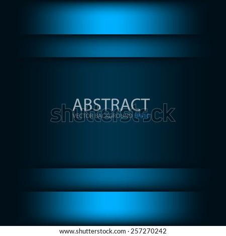 blue vector background overlap