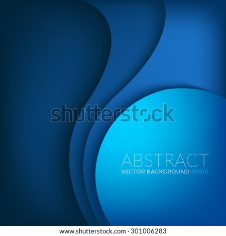 blue vector background with