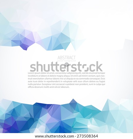 blue vector pattern for portable intelligent telephone promotion flyer or net site water abstract background scene business blue fancy print cool concept decorative creative flag drop future graphic g Stock fotó ©