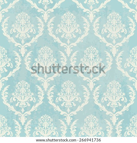 blue vintage wallpaper with texture