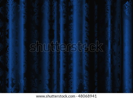 stock vector : Blue Wallpaper background
