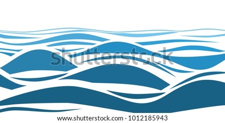 blue water sea waves abstract