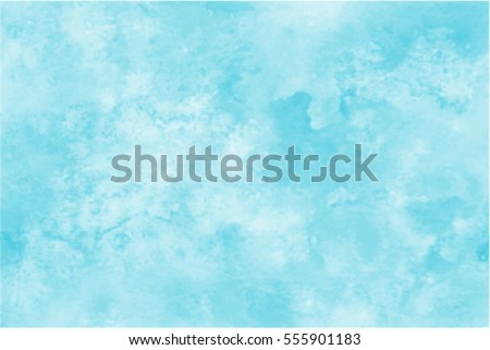 blue watercolor vector...
